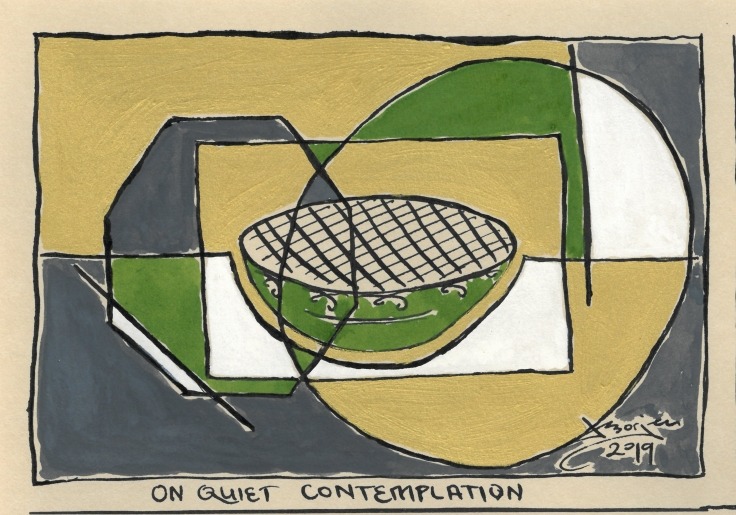 On quiet contemplation